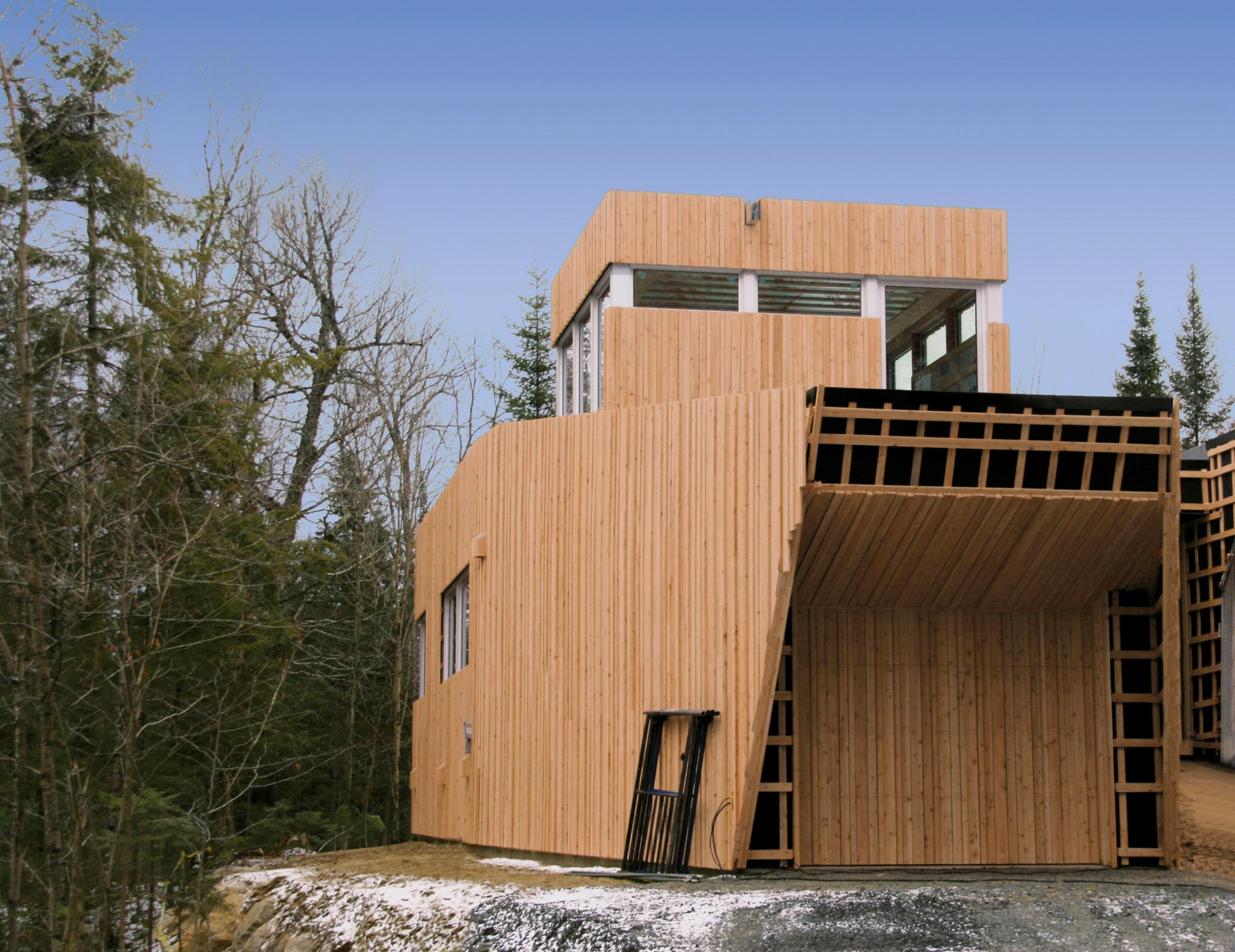 Maison du lac grenier d rken systems inc delta for Agrandissement maison grenier