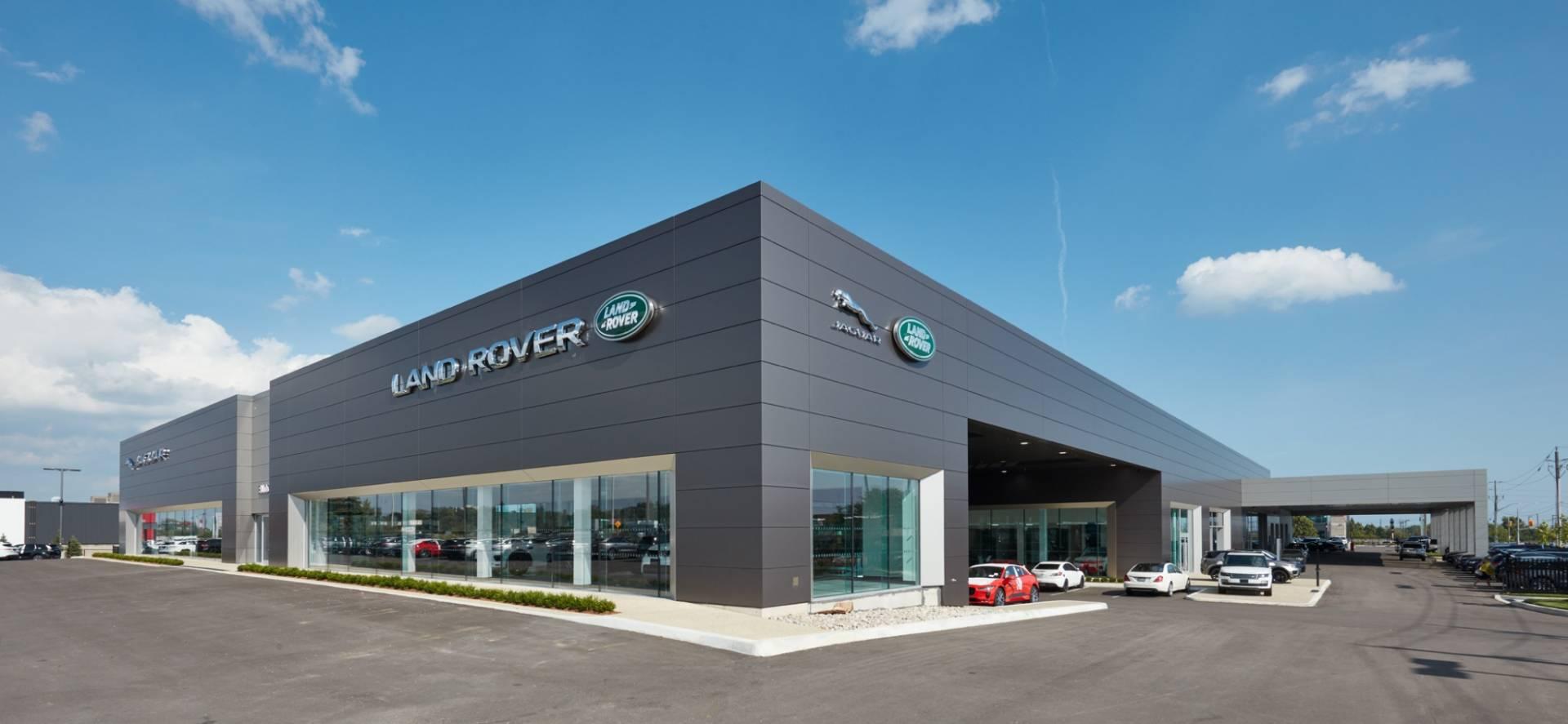Land Rover Dealership >> Budds Jaguar And Land Rover Dealership Dorken Systems Inc